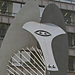 Picasso sculpture - Go to the Travel photo page